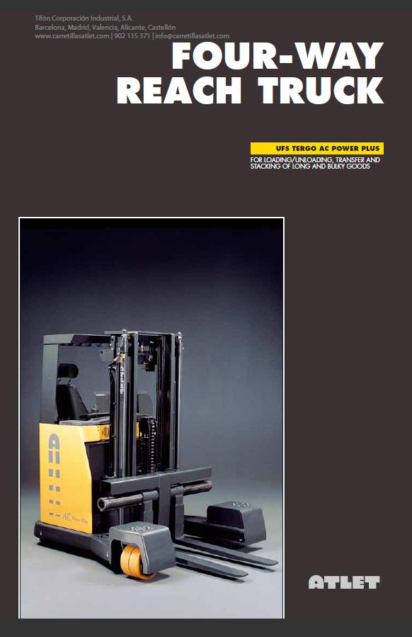 portada folleto retractil 4 Caminos tergo forte UFS Atlet Tifon